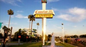 Camelot Golfland Is A Medieval Castle Mini-Golf Course In Southern California That's Tons Of Fun