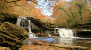 Some Of The Best Fall Colors In Tennessee Can Be Found At The Old Stone Fort State Archaeological Park