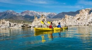 Paddle Past Tufa Towers On An Ancient Lake In Northern California With A Guided Kayak Tour