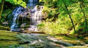 Escape To Station Cove Falls For A Beautiful South Carolina Nature Scene