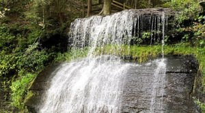 Marvel At Three Waterfalls Along A Short But Sweet Trail At Buttermilk Falls Natural Area Near Pittsburgh