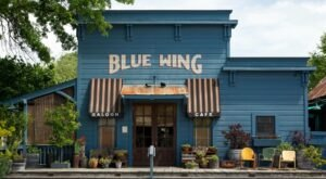 Once A Stage Coach Stop In The 1880s, Blue Wing Saloon Restaurant In Northern California Is A Unique Dining Spot