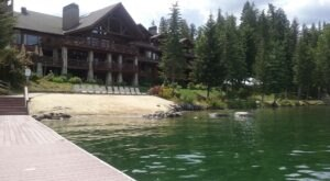 This Boutique Waterfront Lodge On Lake Pend Oreille In Idaho Exudes Old World Charm