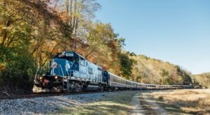 The Autumn Limited Train Ride In Georgia Is Scenic And Fun For The Whole Family