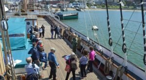 Walk The Decks Of Historic Ships At This Magnificent Maritime Historical Park In Northern California