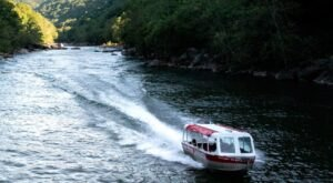 Discover A New Way To Tour West Virginia's New River Gorge – By Jetboat