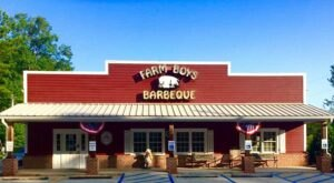 Take A Little Road Trip Over To Feast On The BBQ Buffet At Farm Boys BBQ In South Carolina