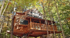 Lake Sunapee In New Hampshire Is Home To The Treehouse Getaway Adults Will Love
