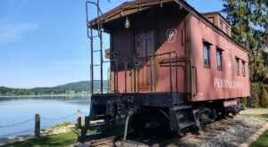 Spend The Night In An Airbnb That's Inside An Actual Caboose Right Here In Pennsylvania