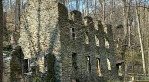 A Mysterious Woodland Trail In Pennsylvania Will Take You To Tenement House Ruins