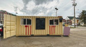 Get The Best Chicago-Style Hot Dogs In Iowa From A Shipping Container At This Unconventional Restaurant
