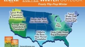 Get Ready To Bundle Up, The Farmers Almanac is Predicting Below Average Temperatures This Winter In Florida