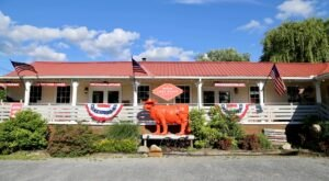Lost River Trading Post Is A Charming Local Gallery, Bakery, And Espresso Bar In Small Town West Virginia