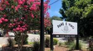 Take A Drive Out To The Country For Authentic Italian Cuisine At Pane E Vino In South Carolina