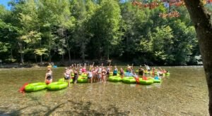 Float Through The Mountains Of East Tennessee With A Tubing Trip From Tube River Rage