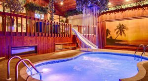 Cool Off Under A Waterfall At This Illinois Hotel