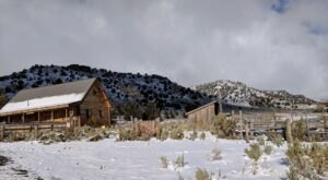 Stay At This Secluded Cabin In Nevada For A Peaceful Weekend Getaway In The Backcountry