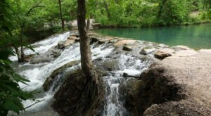 The Travertine Creek Trail In Oklahoma Takes You To Little Niagara Falls And Back