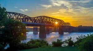 At Nearly One Mile Long, The Big River Crossing In Arkansas Is The Longest Pedestrian Bridge Across The Mississippi