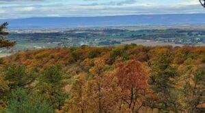 Sensational Views Await All Year Around On The Ridge Overlook Trail In Pennsylvania