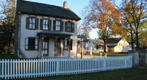 Travel Back To The 1800s At Pennsylvania's Landis Valley Village & Farm Museum