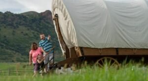 For Just $100 A Night, You Can Stay In A Covered Wagon At East Canyon State Park In Utah