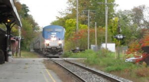 Ride The Amtrak Through Vermont's Foliage For Just $16