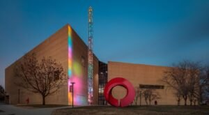 Admission-Free, The Sidney And Lois Eskenazi Museum Of Art In Indiana Is The Perfect Day Trip Destination