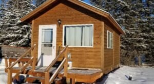 Hideaway In This Modern Cabin In The Alaskan Woods Just Minutes From Cook Inlet Beach