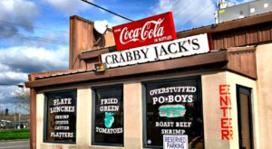 Monster Po'Boys And Authentic Cajun Cuisine Await You At Crabby Jack's In New Orleans