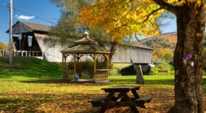 Here Are 9 Of The Most Beautiful New York Covered Bridges To Explore This Fall