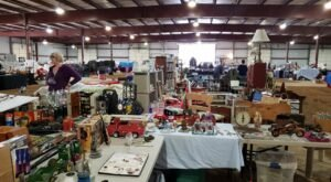 People Travel From All Over The State To Attend The Jackson Antique And Flea Market Show In Michigan