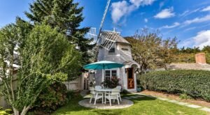Stay Overnight Inside A Whimsical And Historic Windmill In Massachusetts