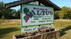 One Of The Most Unique Towns In America, Altus Is Perfect For A Day Trip In Arkansas