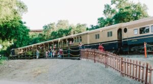 Don Your Fanciest Hat And Enjoy High Tea When You Take A Ride On The Fancy Hat Tea Train In Northern California