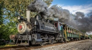 The Halloween Train Ride In Hamburg, New York Is Filled With Fun For The Whole Family