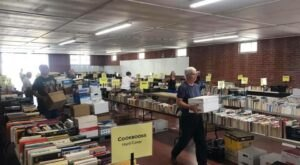 Attend One Of The Largest Used Book Sales In Ohio With Over 45,000 Unique Titles