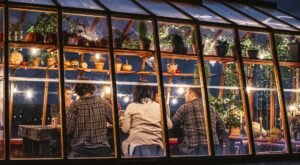 Sip Hard Cider In A Cozy Greenhouse When You Make The Trip To Virtue Cider In Michigan