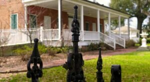 One Of Only A Few Antebellum Houses Still Standing On Mississippi's Gulf Coast, Old Brick House Offers A Unique Glimpse Into The Past