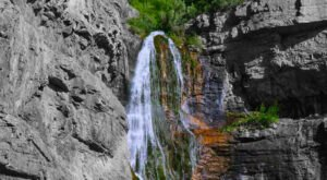 See The Tallest Waterfall In Utah At Provo Canyon