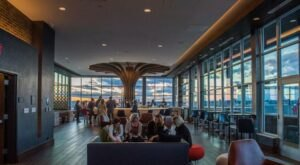 The Sweeping Views At The Radius Rooftop Lounge In Downtown Knoxville Are Some Of The Best In Tennessee