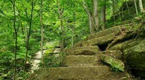 You Have Until The End Of October To Conquer Indiana's Tunnel Falls Trail