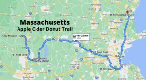 Treat Your Taste Buds To A Fall Adventure Along This Apple Cider Donut Trail In Massachusetts