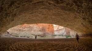 Paddle To A Massive Sand Cave Hiding At The Bottom Of The Grand Canyon In Arizona