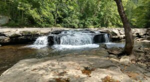 Paint Creek Falls Is An Out-Of-The-Way Waterfall Hiding In The West Virginia Forest