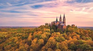 Climb 178 Steps To The Best Fall Views In Wisconsin At Holy Hill