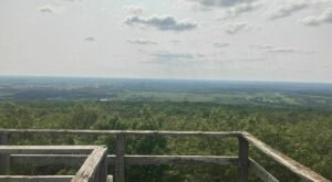 Hike A Wild Trail To A Tower With An Epic View Of Southern Wisconsin's Hills And Valleys