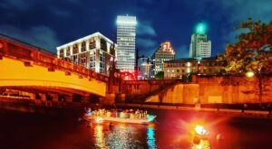 Not Many People Know That You Can Take A River Boat Cruise Along The Providence River In Rhode Island