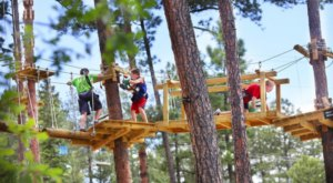 The Longest Elevated Canopy Walk In South Dakota Can Be Found At Rushmore Tramway Adventures