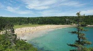 The Thunder Hole to Sand Beach Loop In Maine Takes You From The Rocky Coast To The Sandy Beach And Back